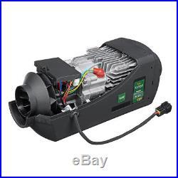 12V Car Truck 5000W Air Diesel Heater+LCD Switch Controller+10l Plastic Oil Tank