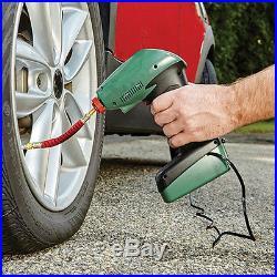 12V Portable Handheld Air Compressor Inflator Pump For Car Bike Tire Sports Ball