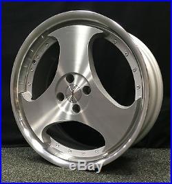 18 Calibre Cr-111 Alloy Wheels Fits Mini Kia Vauxhall Mazda