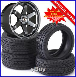 18 ST16 GM Alloy Wheels Tyres 225/40r18 Nissan Renault Hyundai Dacia 5X114.3
