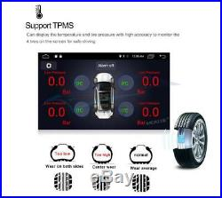 1DIN Rotatable 9 Full Netcom Android 9.1 Car Stereo Radio 1GB+16GB GPS WifiUK