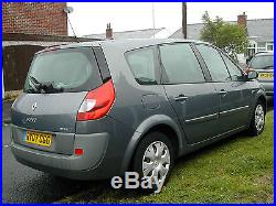 2018 renault scenic. perfect scenic 2007 renault gscenic exp5 dci 106 grey 5 seat mot feb 2018 intended renault scenic