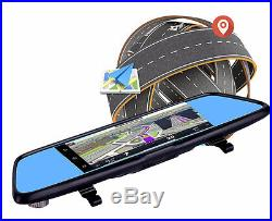 4G GPS Nav System Wi-Fi Bluetooth Android 1080P DVR 7 inch Touch Remote Monitor
