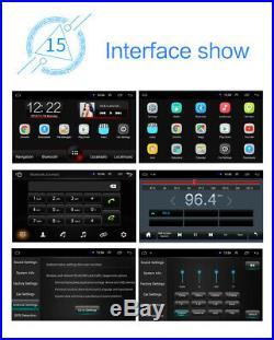 7 GPS Car Radio HD Retractable Screen Stereo Head Unit 1Din Bluetooth Player
