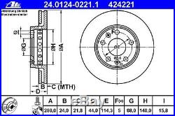 Original ATE Bremsbelagsatz 13.0460-2845.2 hinten