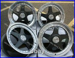 Alloy Wheels 18 04 For Mitsubishi Renault Megane 5x114 Models Grey