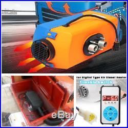 Car Bus Boats DC12V 3000W-5000W Adjustable Digital Air Diesel Heater 401314cm