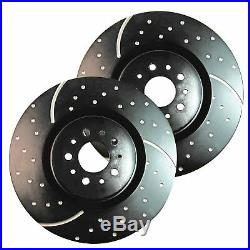 EBC GD Sport Rotors / Turbo Grooved Upgraded Front Brake Discs (Pair) GD163