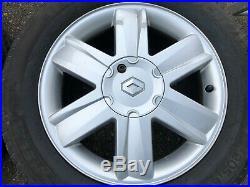 Five X Renault Grand Scenic 16 Nervastella Alloy Wheels 205/55/16