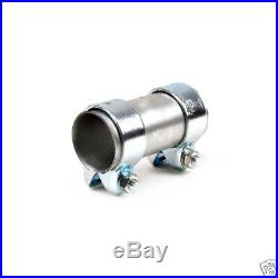Heavy Duty Exhaust Sleeve Connector Pipe Clamp Tube Joiner 51/48mm Length 90mm