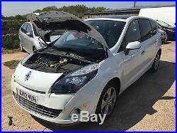 T And T Repairables >> Renault Grand Scenic 2012 Dynamique Dci T White Damage
