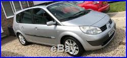 Rare Renault Grand Scenic 2.0t petrol 165bhp 7 seater Spares or Repairs