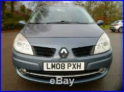 Renault Grand Scenic Dynm 2.0 Petrol Auto Seven Seats Airc Cruise Clean 2008