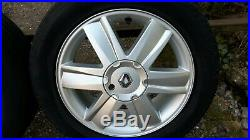 Renault Megane Scenic Grand Scenic 205 55 R16 Alloy Wheels And Tyres X4
