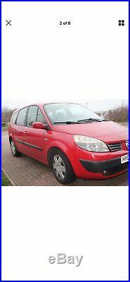 Renault grand scenic 2005 7 seater 1.6 petrol