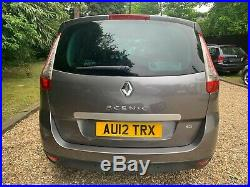 Renault grand scenic 2012 Tom Tom BOSE PACK TOP OF THE RANGE 7 seater excellent