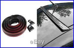 Roof Spoiler Rear Spoiler Spoiler Cover Lip Gloss Black for Many Vehicles