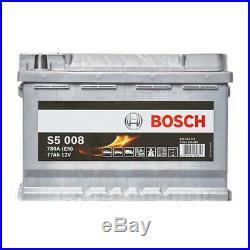 S5 096 Car Battery 5 Years Warranty 77Ah 780cca 12V Electrical Bosch S5008