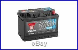 YUASA Stop Start 12v 067 AGM Car Battery 4 Year Warranty EK700 YBX9096
